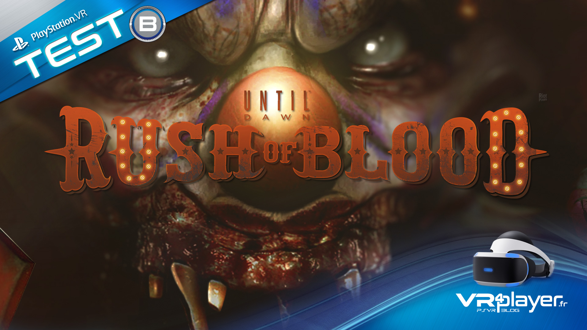 test Until Dawn Rush of Blood sur PSVR vr4player.fr