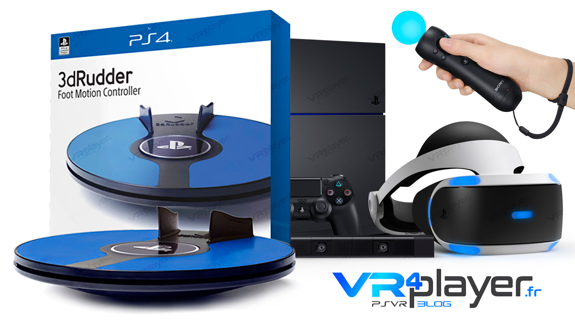 3DRudder PlayStation VR VR4Player Reportage exclusif !