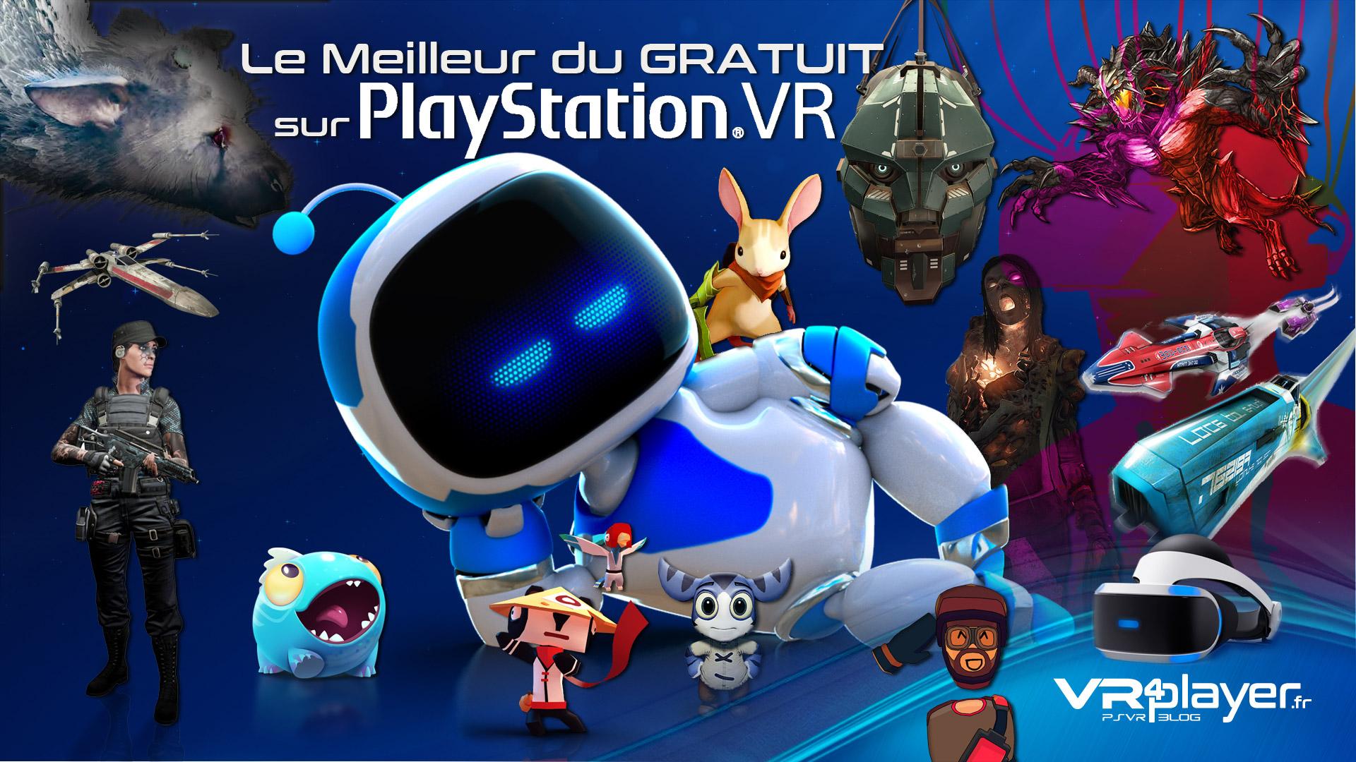le meilleur du gratuit sur PlayStation VR - vr4player.fr