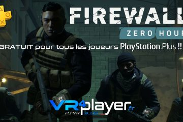 PlayStation VR : Firewall Zero Hour gratuit ce week-end sur PSVR !