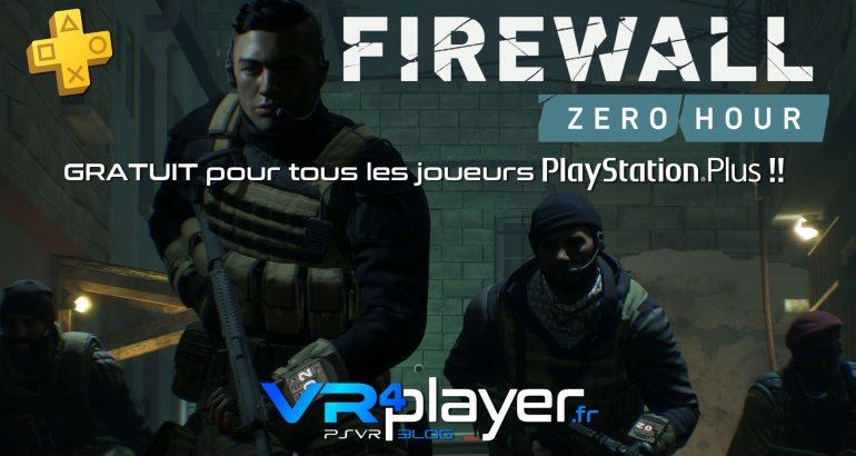 Firewall Zero Hour gratuit ce week-end sur PSVR - vr4player.fr