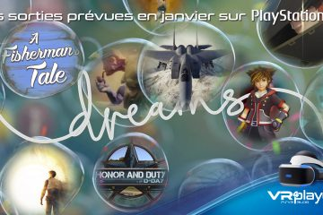 PlayStation VR : les sorties prévues en janvier sur PSVR