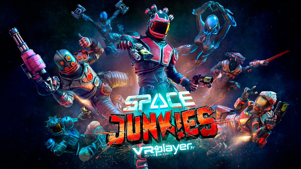 Space Junkies Ubisoft PlayStation VR, PSVR, VR4player