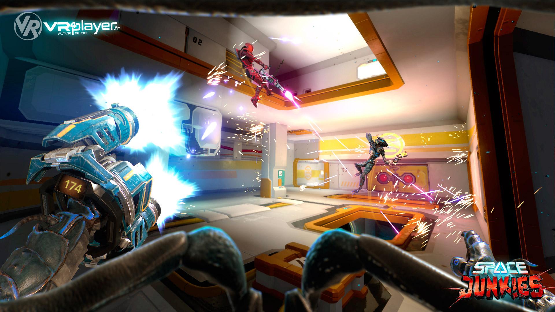 Space Junkies Ubisoft PlayStation VR, PSVR, VR4player