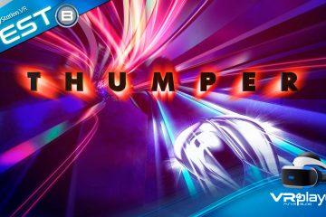 PlayStation VR : Thumper, un coléoptère collé au rail ! Le Test