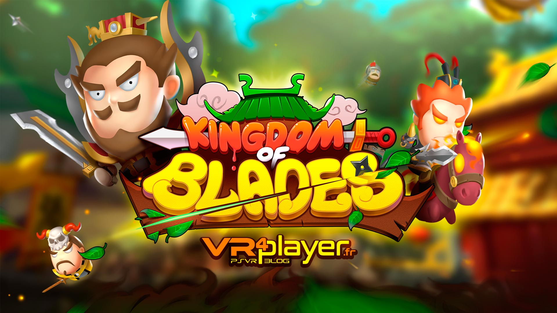 Kingdom of Blades VR PlayStation VR PSVR VR4PLayer