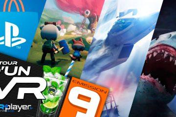 PlayStation VR : Autour d'un VR Podcast #9, des rêves, des requins et des avions