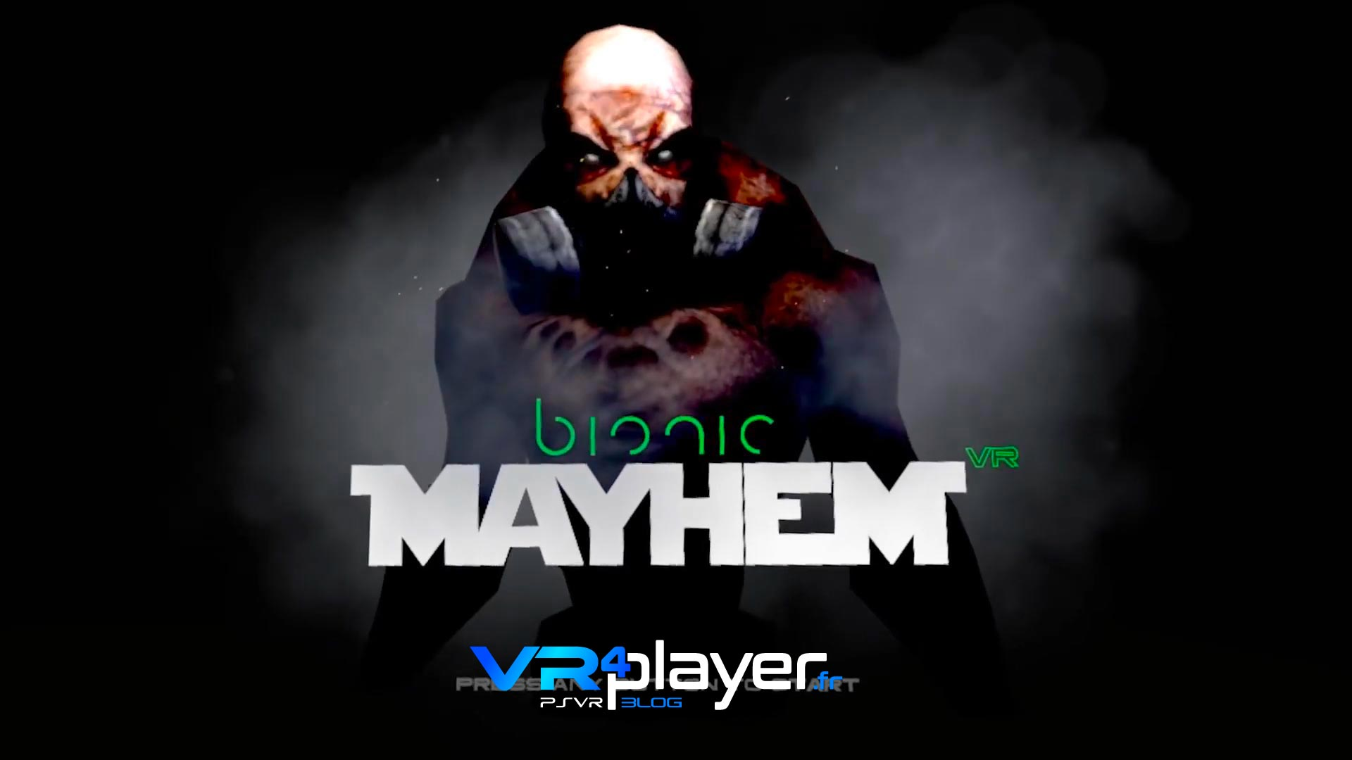 Bionic Mayhem sur PlayStation VR, PSVR VR4player.fr