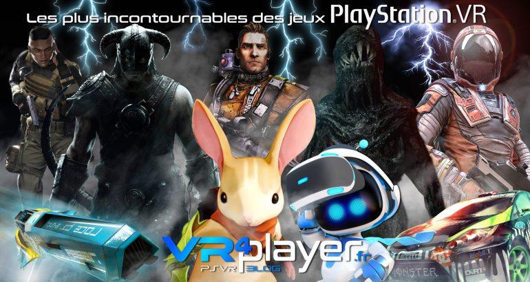 Les jeux incontournables du catalogue PlayStation VR - vr4player.fr