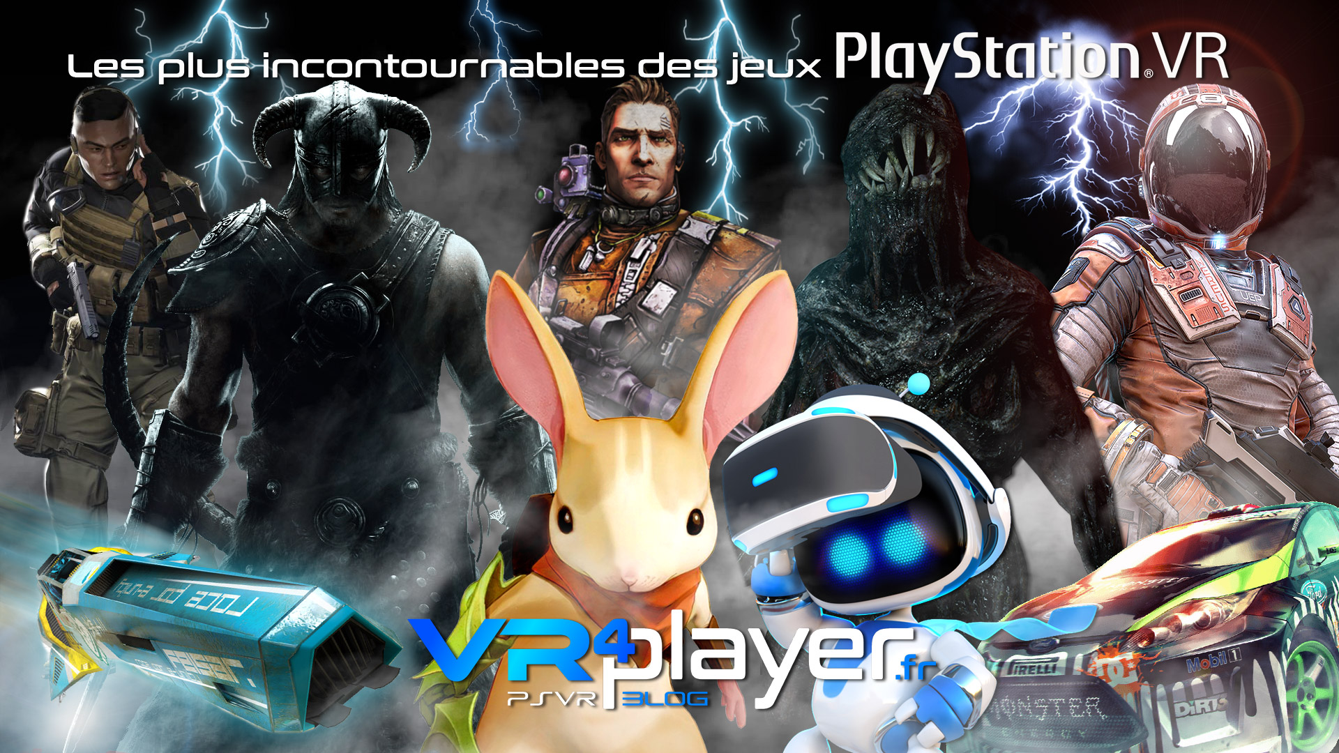Les jeux incontournables du catalogue PlayStation VR - vr4player.fr