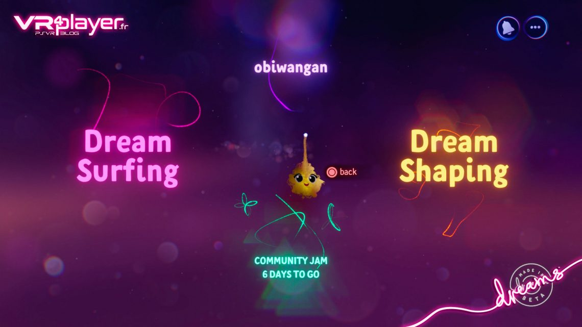 Dreams Media Molecule Preview VR4player
