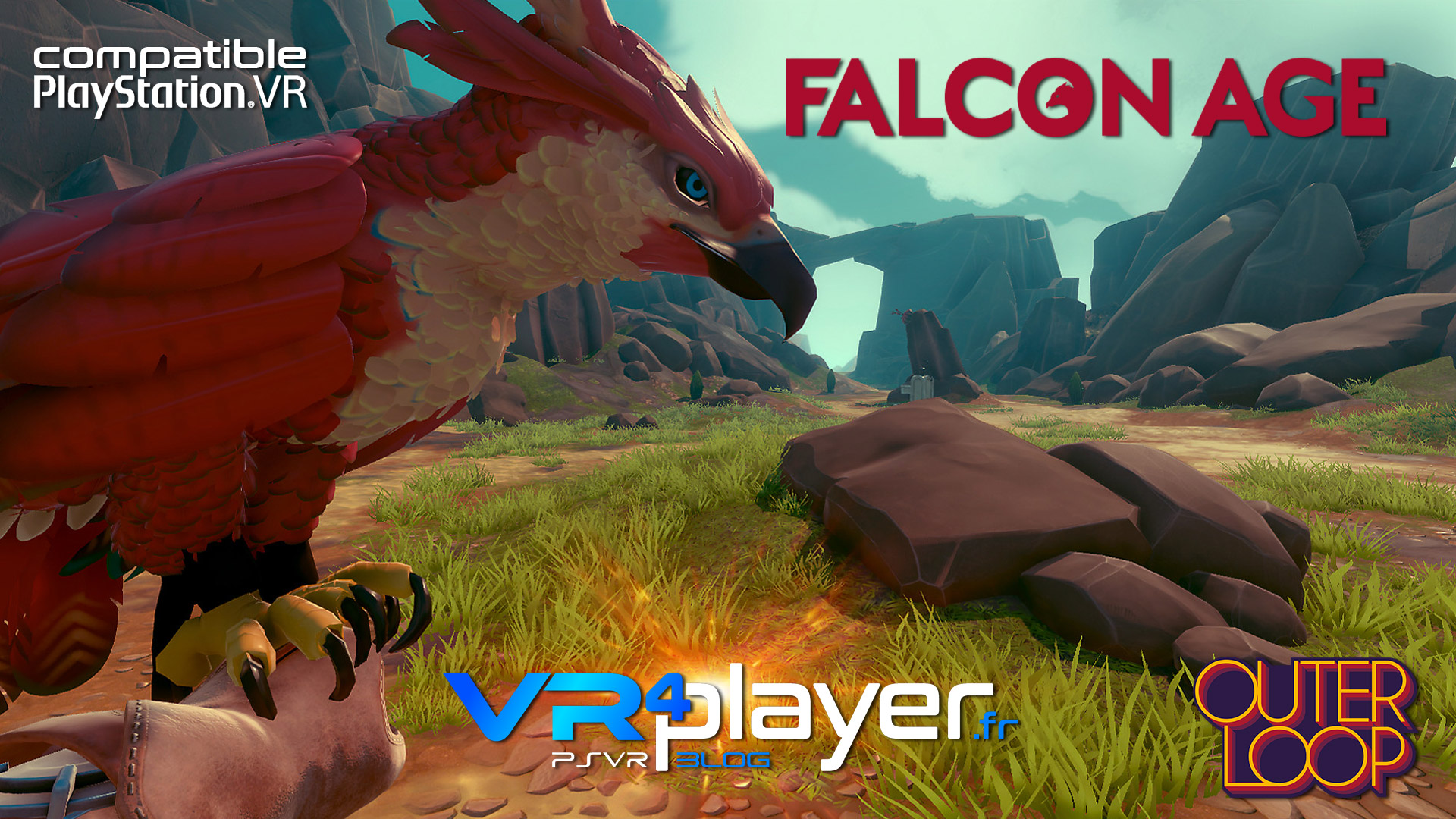 video de gameplay de falcon age psvr - vr4player.fr