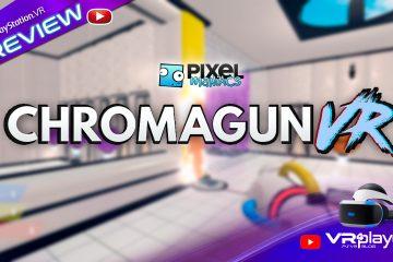 PlayStation VR : Chromagun VR, un puzzle Escape Game haut en couleur, Preview