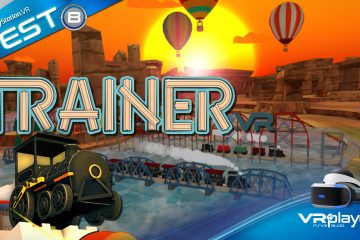 PlayStation VR : TrainerVR, un rêve de gosse se réalise sur PSVR ! TEST