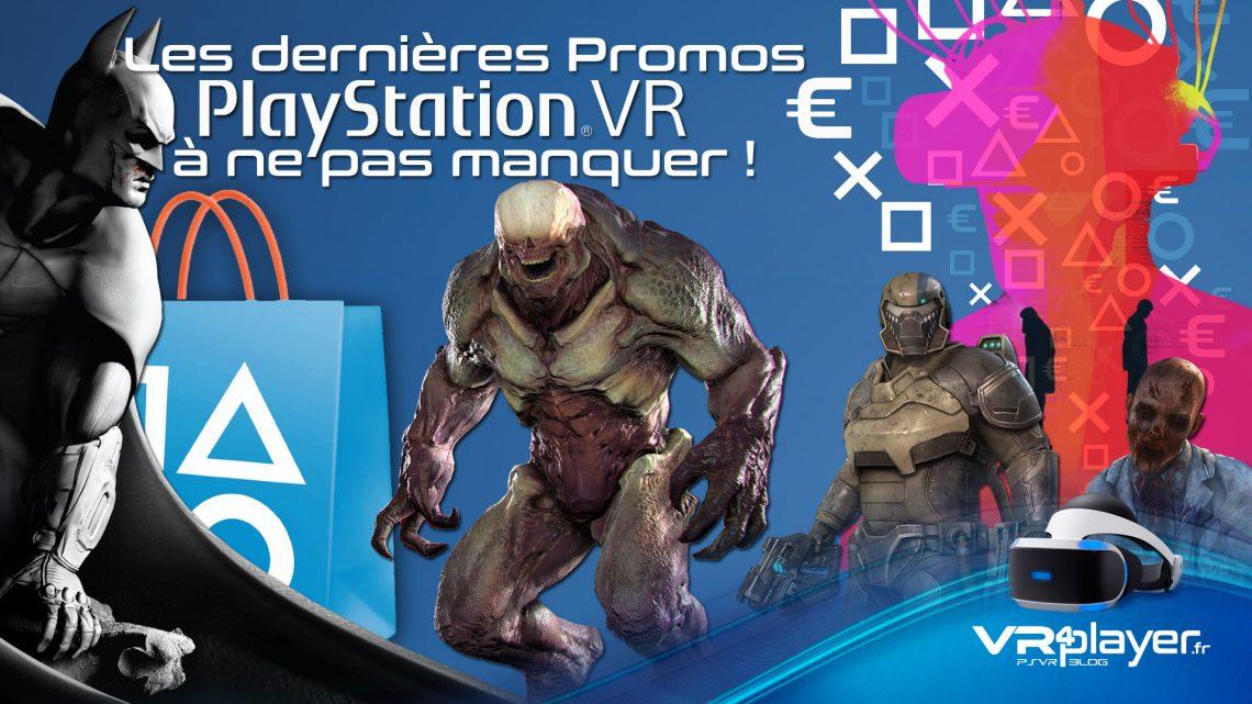 les promos du Store PSVR - vr4player.fr