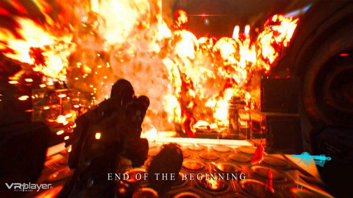 End of the Beginning - PSVR - VR4player.fr