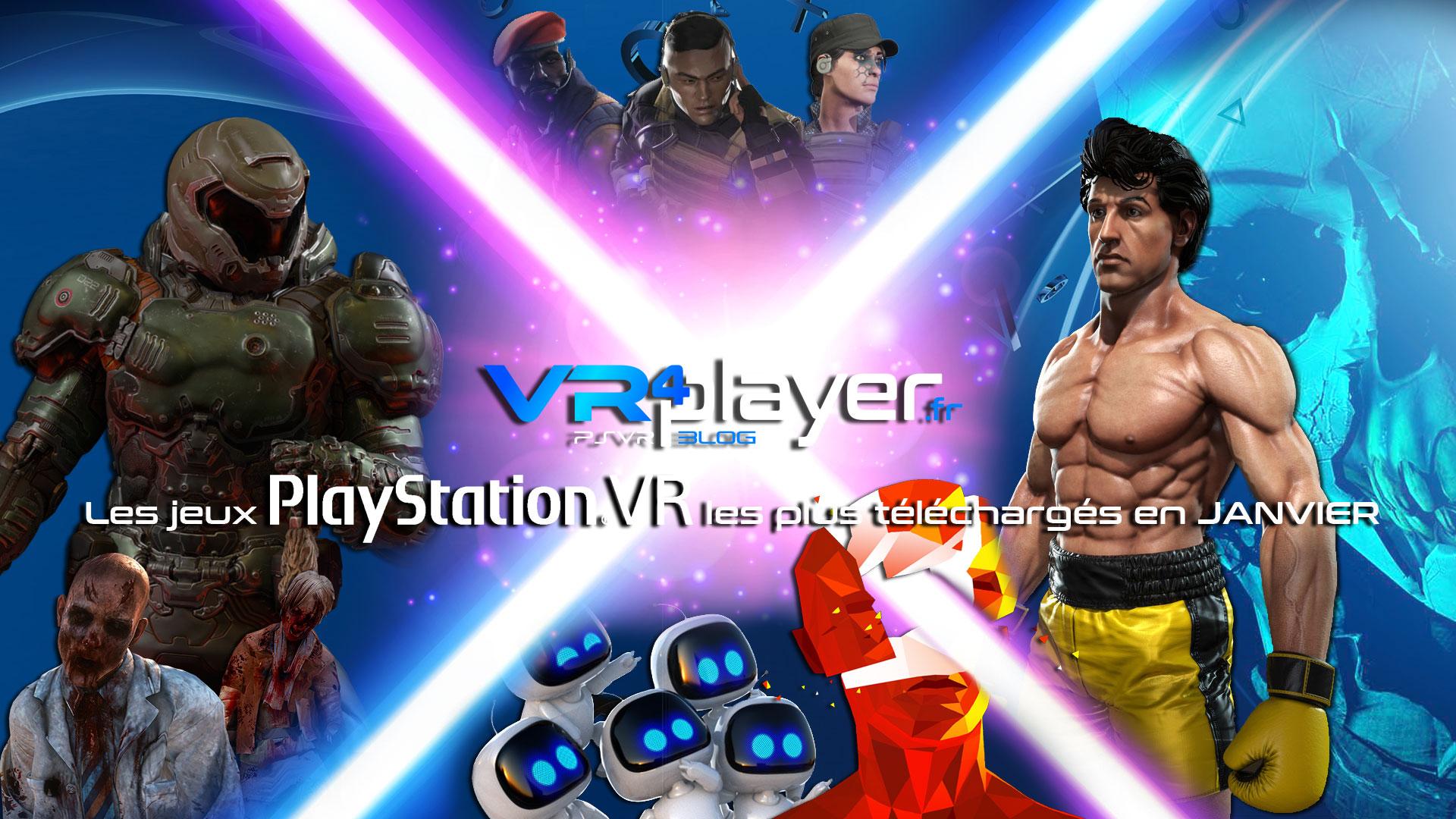 Le top des ventes en janvier 2019 sur PSVR - VR4player.fr