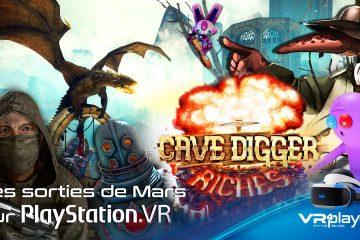 PlayStation VR : les sorties PSVR du mois de mars