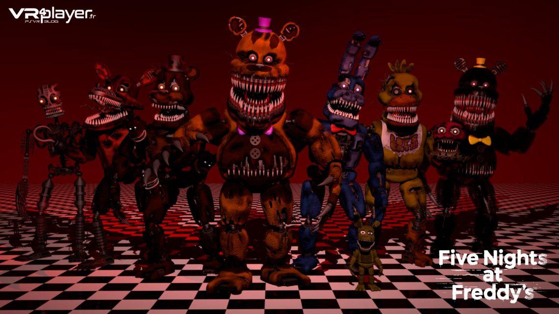 Five Nights at Freddy's VR PlayStation VR PSVR VR4Player