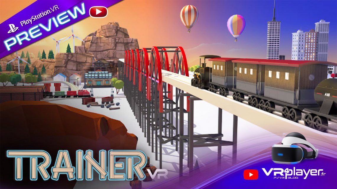 TrainerVR sur PlayStation VR, PSVR - VR4player.fr
