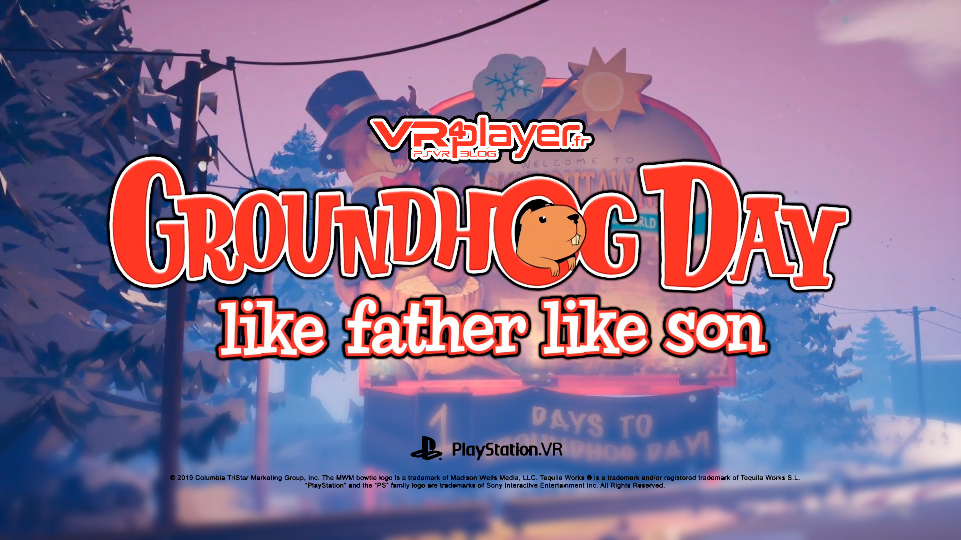 GroundHog Day Like father like Son PSVR PlayStation VR VR4Player