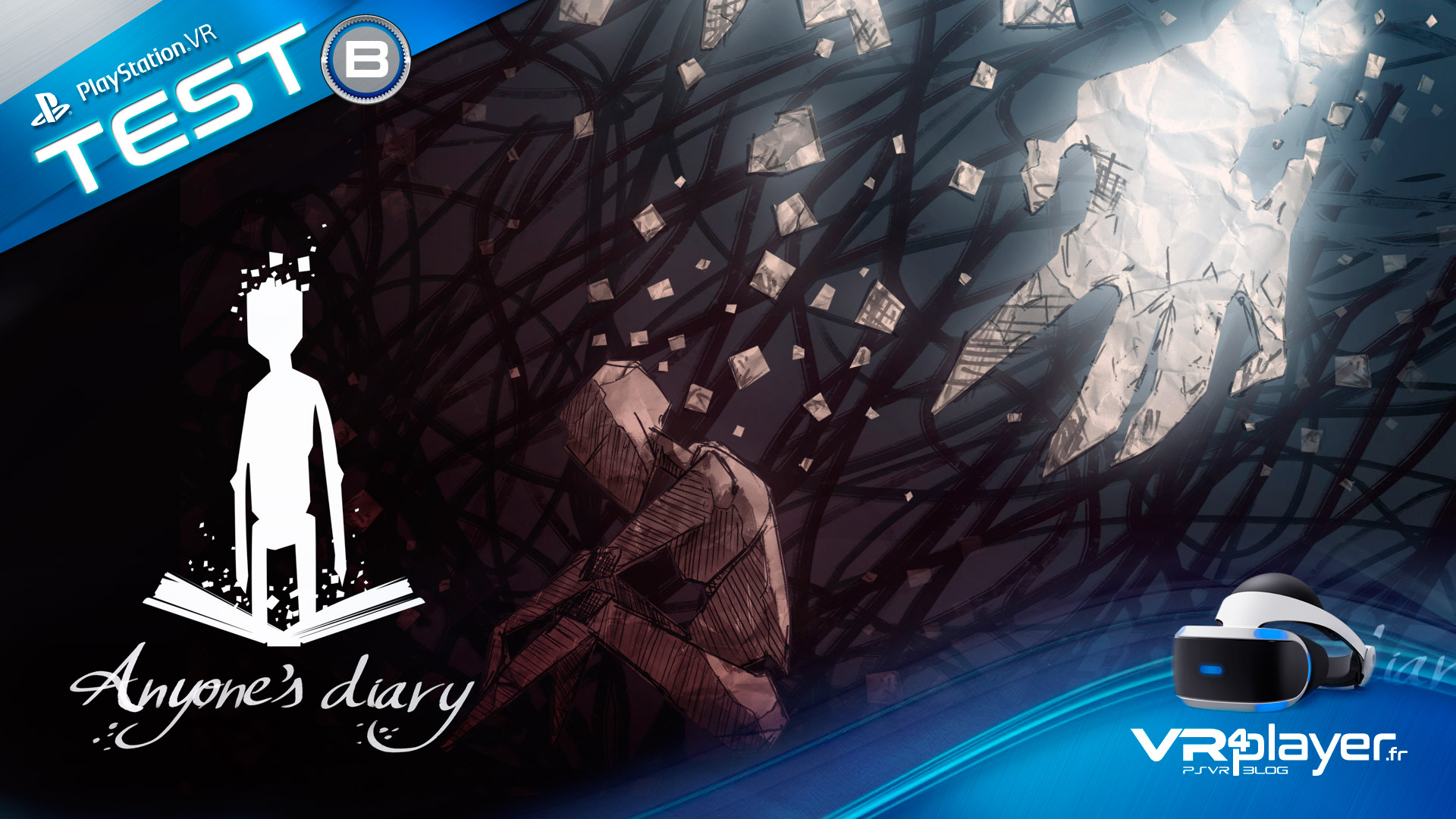 Anyone 's Diary Test Review PlayStation VR PSVR VR4Player