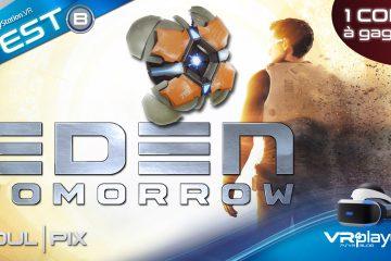 PlayStation VR, PSVR : Eden Tomorrow, Le Test Science-Ficsationnel
