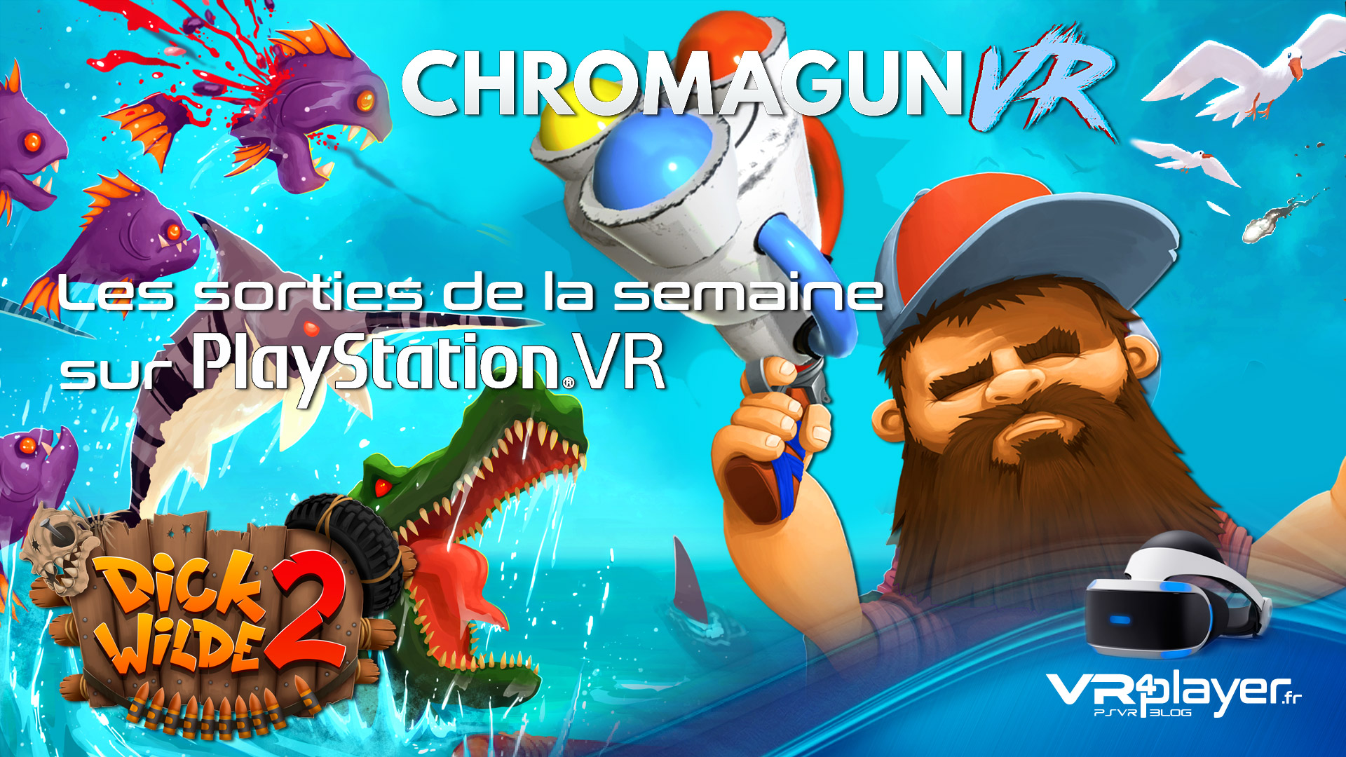 les nouveaux jeux PSVR du Store vr4player.fr