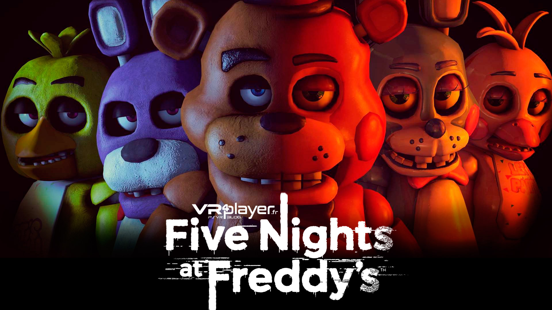 Five Nights at Freddy's VR PlayStation VR PSVR VR4Player