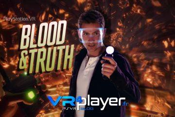 PlayStation VR : Blood & Truth, bientôt la vérité sur PSVR !