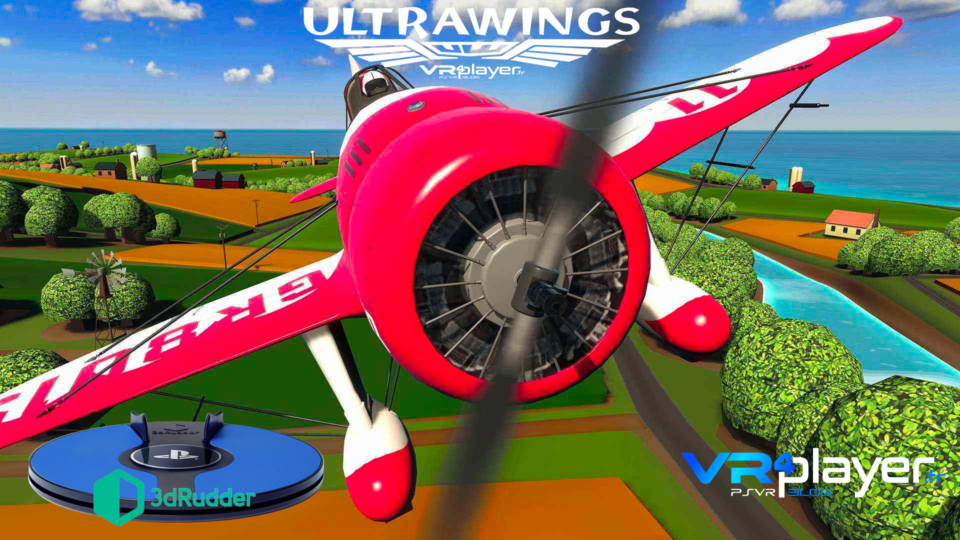 Ultrawings PSVR 3dRudder VR4player.fr