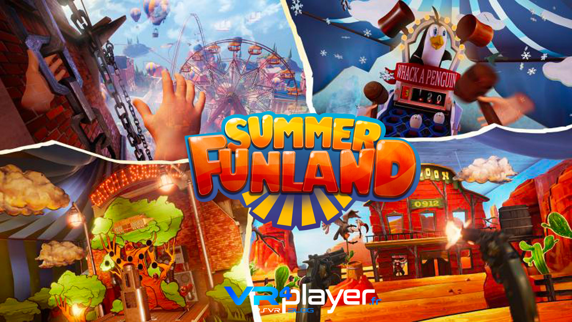 Summer Funland - PSVR - VR4player.fr