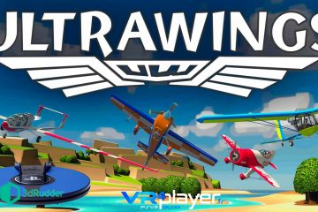 PlayStation VR : Le 3dRudder donne des ailes à Ultrawings – Gameplay !
