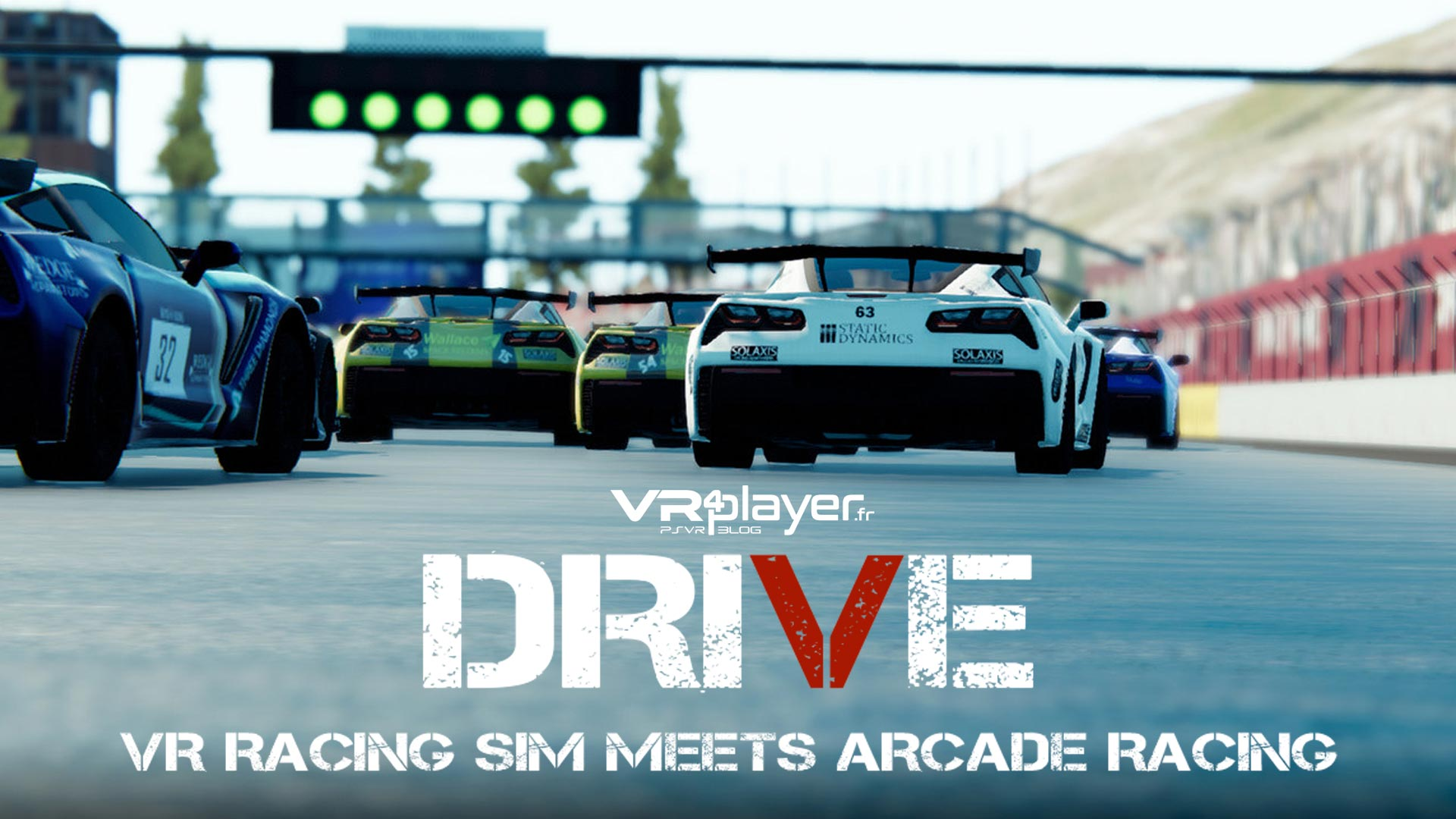 Drive VR PSVR PlayStation VR VR4Player
