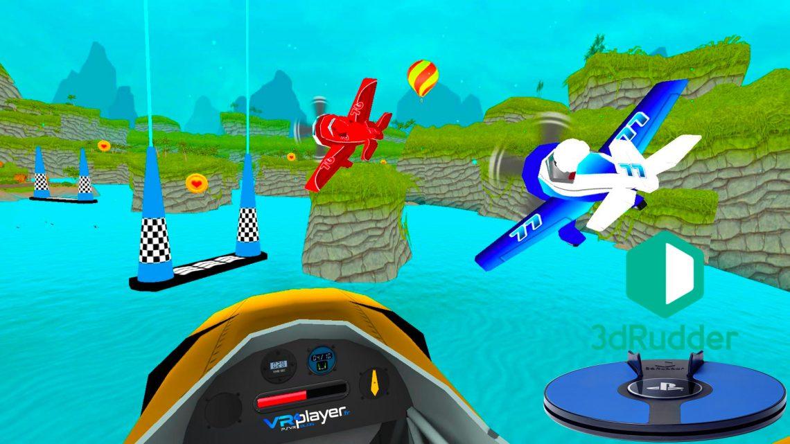 Pirate Flight avec le 3dRudder - VR4player.fr