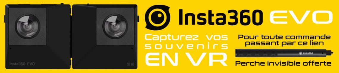 Insta360 Evo PlayStation VR PSVR Tout savoir sur la nouvelle camera Insta360 VR4Player