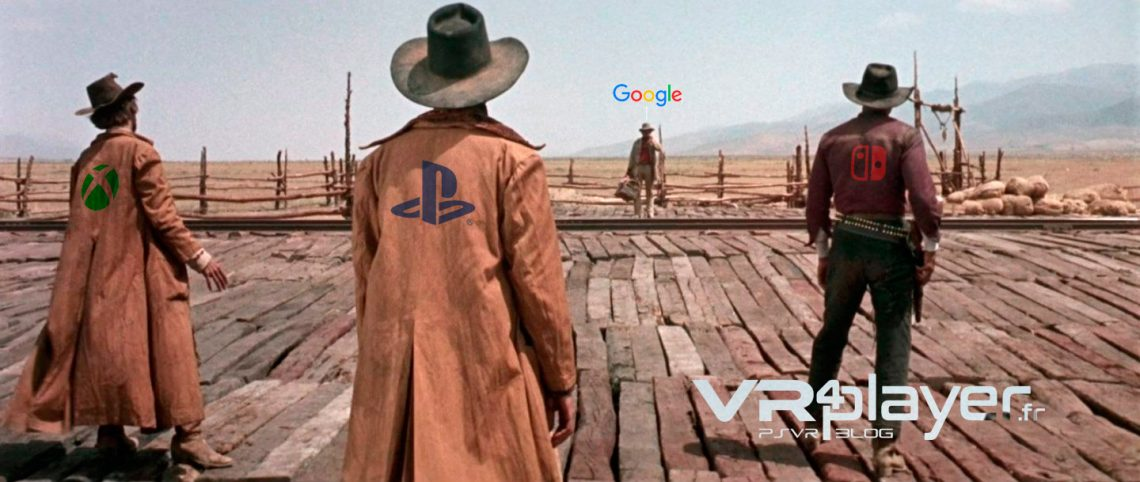 Google Gaming, Microsoft, Sony, Nintendo