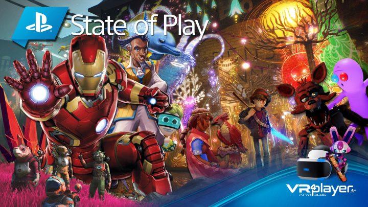 State of Play, toutes les dates des jeux PSVR