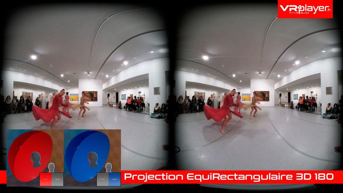 Video 360 VR 3D 2D Dossier PlayStation VR VR4PLayer