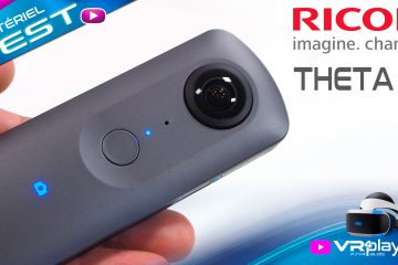 PlayStation VR : Camera 360° VR RICOH Theta V Test sur PSVR