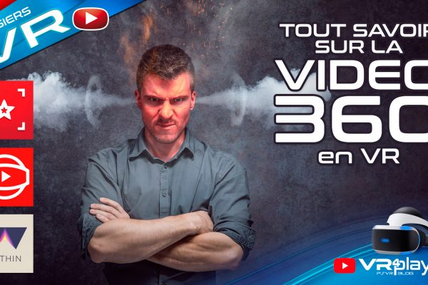 Video 360 VR 3D 2D Dossier PlayStation VR VR4PLayer