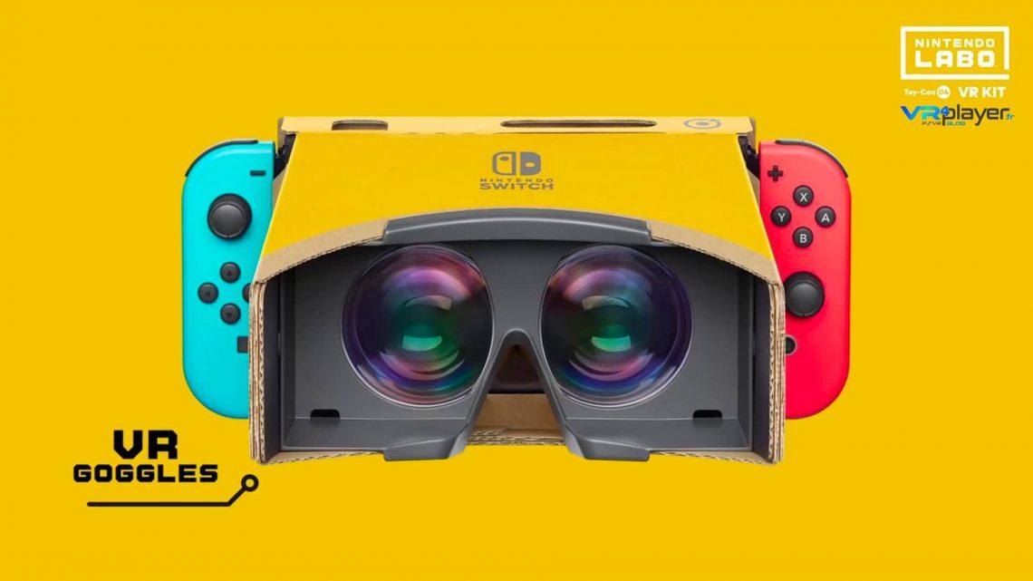 Nintendo ToyCon VR kit VR4player