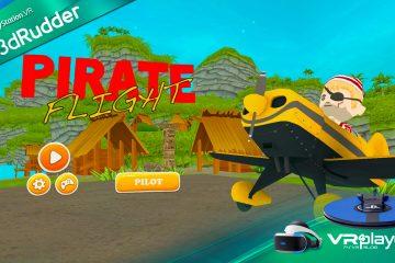 PlayStation VR, PSVR : Pirate Flight, au 7ème ciel avec le 3dRudder