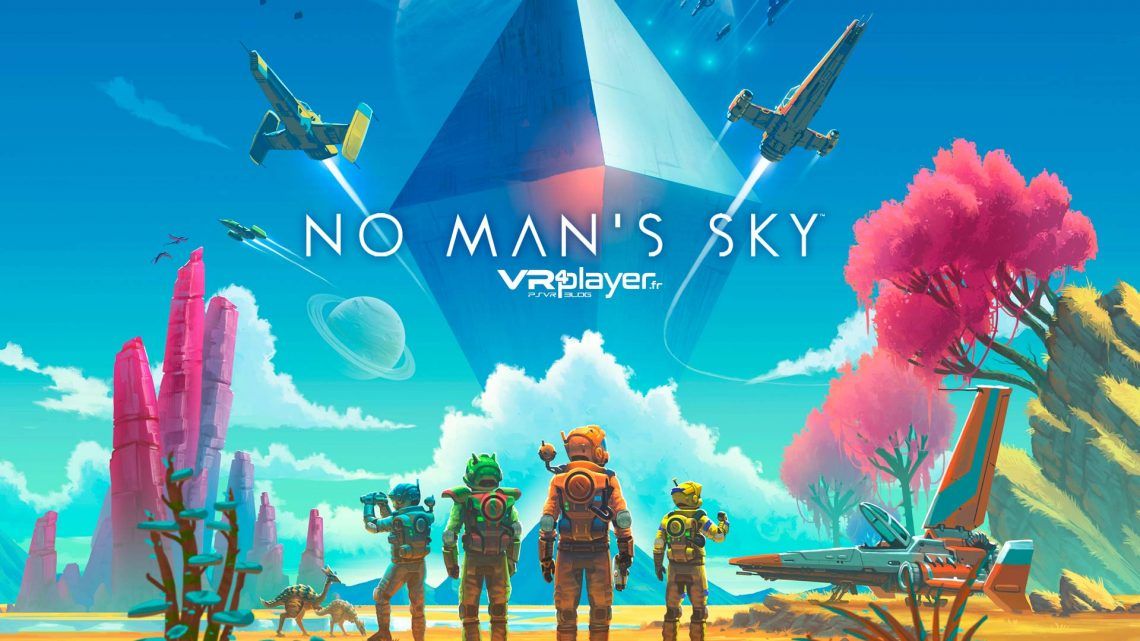 No Man's Sky VR PlayStation VR VR4Player
