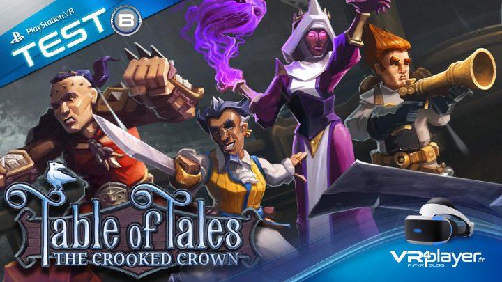 Table of Tales test psvr - vr4player.fr