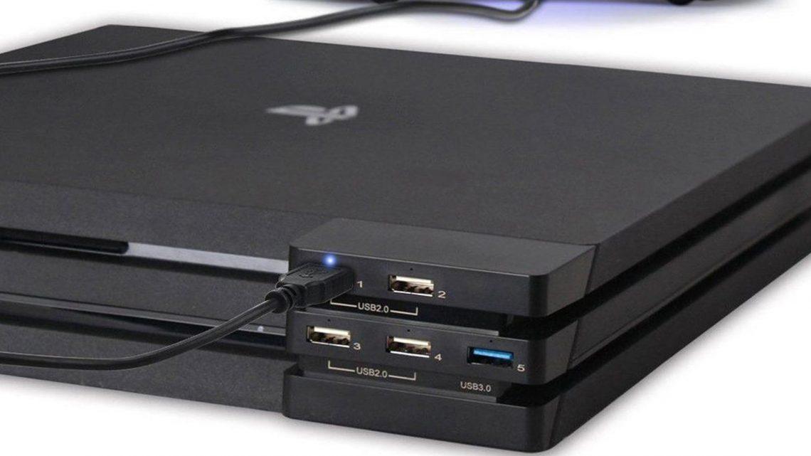 Hub USB 3.0 PlayStation 4