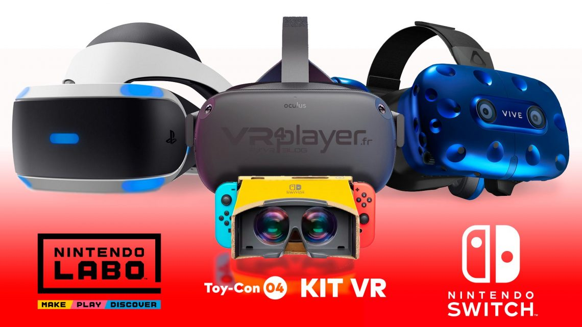 Nintendo ToyCon VR kit VR4player