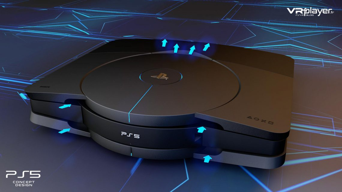 PlayStation 5 - PS5 Concept Design VR4Player