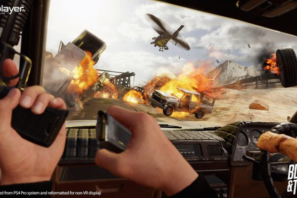 Blood and Truth TEST PlayStation VR PSVR VR4Player