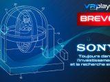 Brevet Sony Salles d'arcade - Parcs d'attraction VR Réalité Virtuelle VR4Player